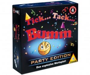 Tick Tack Bumm Party Edition Anleitung